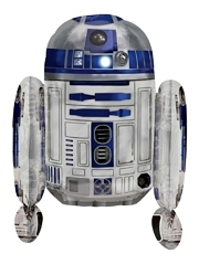 "26"" R2D2 Shape Star Wars Balloon"