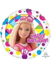 "17"" Barbie Sparkle Birthday Balloon"