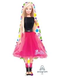 "42"" Barbie Sparkle Shape Balloon"