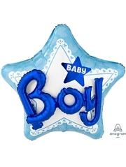 "36"" Celebrate Baby Boy Balloon"