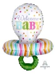 "29"" Baby Pacifier Balloon"