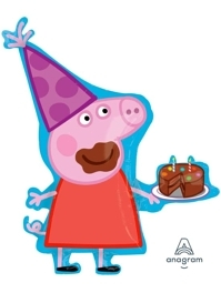 "33"" Peppa Pig Shape Balloon"