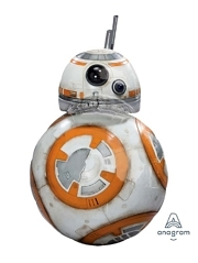 "33"" The Force Awakens BB8 Shape Star Wars Balloon"
