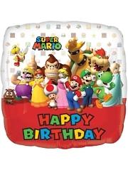 """17"""" Mario Brothers Birthday Balloon"""