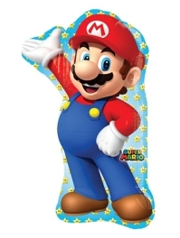 "33"" Mario Brothers Shape Balloon"