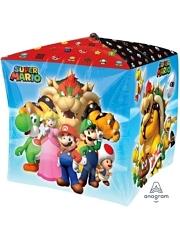 "15"" Mario Brothers Cubez Balloon"