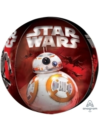 16 Star Wars The Force Awakens Orbz Balloon
