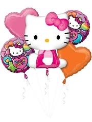 Hello Kitty Rainbow Balloon Assortment