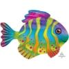 "33"" Colorful Fish Ocean Balloon"