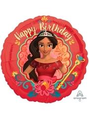 "17"" Elena of Avalor Hbd Disney Balloon"
