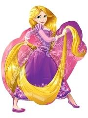 "31"" Rapunzel Shape Disney Balloon"
