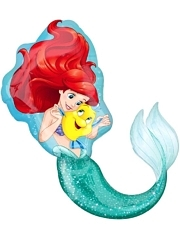 "35"" Ariel Dream Big Shape Disney Balloon"