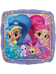 "17"" Shimmer & Shine Balloon"