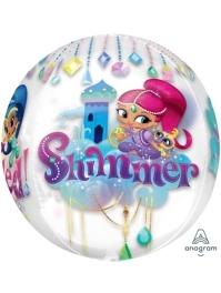 "16"" Shimmer & Shine Orbz Balloon"