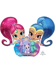 "53"" Shimmer & Shine Balloon"