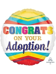 "17"" Congratulations On Your Adoption Baby Balloon"