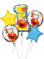 Sesame Street 1st Birthday Balloon Assortment