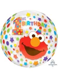 "16"" Sesame Street 1st Birthday Orbz Balloon"