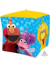 "15"" Sesame Street Fun Cubez Balloon"