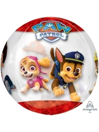 "16"" Paw Patrol Chase & Marshall Orbz Balloon"