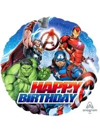 """17"""" Avengers Birthday Marvel Balloon"""