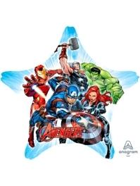 """32"""" Avengers Star Marvel Balloon"""