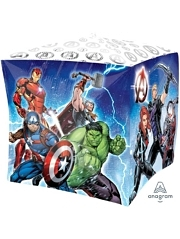 "15"" Avengers Cubez Marvel Balloon"