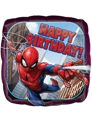 "17"" Spider Man Birthday Marvel Balloon"