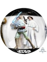 "16"" Star Wars Classic Orbz Balloon"