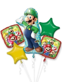 Luigi Mario Brothers Balloon Assortment