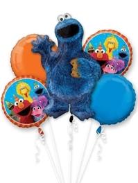 Cookie Monster Sesame Street Balloon Assortment