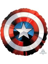 """28"""" Avengers Shield Marvel Balloon"""