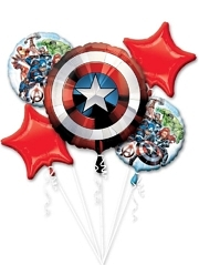 Avengers Shield Marvel Balloon Assortment