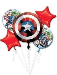 Avengers Shield Marvel Balloon Assortment