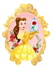 "31"" Beauty & The Beast Shape Disney Balloon"