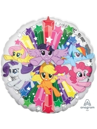 "17"" My Little Pony Gang Balloon"