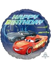 "17"" Cars Happy Birthday Disney Balloon"