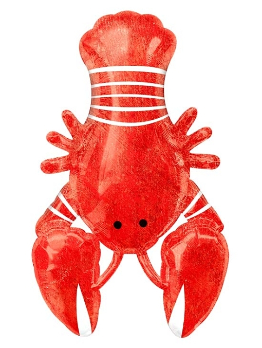 "39"" Seafood Fest Lobster Ocean Balloon"
