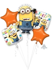 Despicable Me Party Balloon Assortment