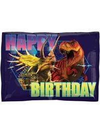 "16"" Jurassic World HBD Dinosaur Balloon"