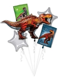 Jurassic World Dinosaur Balloon Bouquet Asst