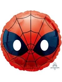 """17"""" Spider Man Emoji Marvel Balloon"""