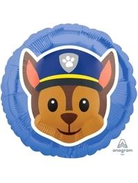 """17"""" Paw Patrol Chase Emoji Balloon"""