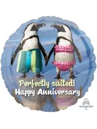 """17"""" Avanti Anniversary Balloon"""
