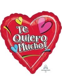 "17"" Te Quiero Mucho Balloon"