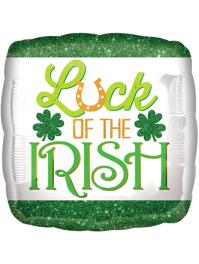 "17"" Luck of The Irish St. Patrick's Day Balloon"