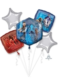 Star Wars The Last Jedi Balloon Assortment