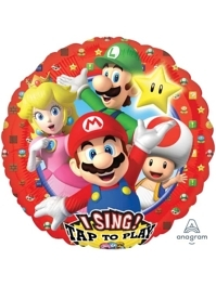 "28"" Super Mario Brothers I-Sing-Balloon"
