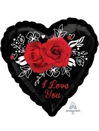 "17"" Romantic Roses Balloon"