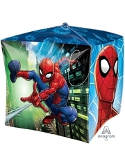 "15"" Spider Man Cubez Marvel Balloon"